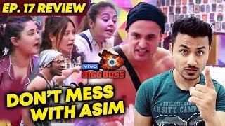 Asim Riaz SHUTS Mouth Of Housemates | Trends On Social Media | Bigg Boss 13 Ep. 17 Review