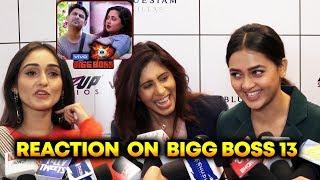 Tejasswi, Kishwar And Tanya Sharma Reaction On Bigg Boss 13