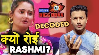 Why Rashmi Desai CRIED After Nominations? | Bigg Boss 13 Latest Update