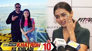 Khatron Ke Khiladi Season10 - Tejasswi Prakash Reaction | Rohit Shetty | #KKK10