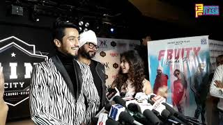 Mr. Faisu & Jannat Zubair - Full Exclusive Interview - Fruity Lagdi Song Launch & Success Party