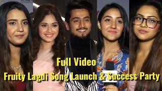 Full Video: Mr.Faisu,Jannat Zubair,Ashnoor,Reem - Fruity Lagdi Hai Song Launch