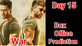 War Movie Box Office Prediction Day 15