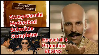 Akshay Kumar Completes Sooryavanshi Movie Hyderabad Schedule, Will Now Do Housefull 4 Promotion