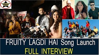 Mr Faisu, Jannat Zubair, Ramji Gulati FULL INTERVIEW On Fruity Lagdi Hai Song Launch