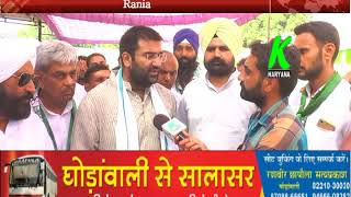 क्यों नहीं आए अमित शाह जानिए अर्जुन चौटाला से, रानियां में अर्जुन ने शाह पर किया वार l k haryana
