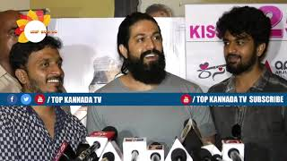 Yash talks about Kiss movie KGF Chapter 2
