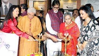 Amitabh Bachchan, Kiara Advani, Shabana Azmi Inaugurates Aditya Singh Uneven The Solo Exhibition