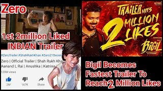 Bigil Trailer Beats Zero Trailer Likes Record In A Style But Here's The Twist