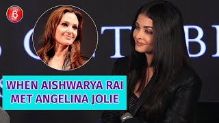When Aishwarya Rai Met 'Maleficent' Star Angelina Jolie