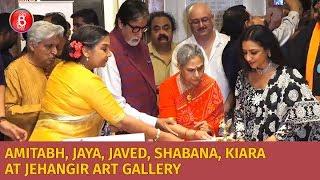 Amitabh Bachchan, Jaya Bachchan, Javed Akhtar, Shabana Azmi, Kiara Advani At Aditya Singh's Show