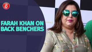 Farah Khan Reveals Interesting Details About Hosting Back Benchers
