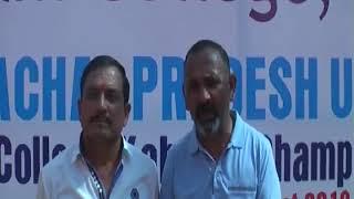 16 OCT N 3 कबडडी प्रतियोगिता में  प्रदेश भर के 70 कालेजों के खिलाडी हिस्सा ले रहे