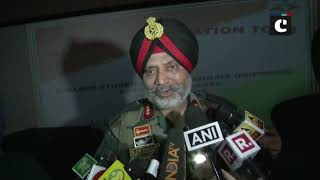Lt Gen KJS Dhillon assures security to Kashmiri farmers