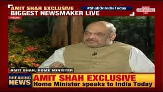 अनुच्छेद 370 को हटाने के बाद जम्मू कश्मीर में शांतिपूर्ण स्थिति है: श्री अमित शाह, इंडिया टुडे