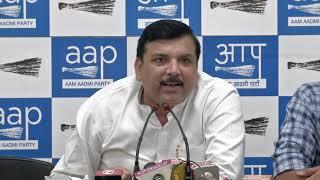 BJP indulging in dirty politics over Delhi's law & order: Sanjay Singh