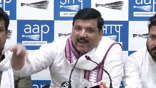 AAP Launches Purvanchal Samvad which will be look agter AAP RS Member Sanjay Singh
