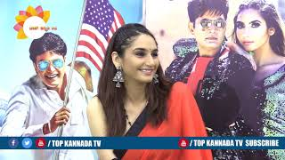 Ragini Talk About Adhyaksha In America Success Meet || TOP Kannada TV