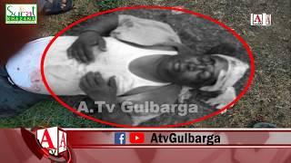 Gulbarga Shaher Ke Jambaga Se Nazd Sadak Hadsa 1 Zakhmi Aur 1 Halakh A.Tv News 16-10-2019