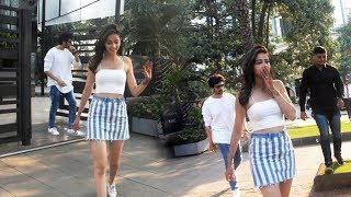 Kartik Aryan And Ananya Pandey Spotted At Yauatcha Restaurant BKC Bandra