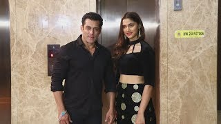 Dabangg 3 Salman Khan And Sai Manjrekar At Ramesh Taurani Diwali Party 2019