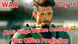 War Movie Box Office Prediction Day 16, Will Break Kabir Singh Lifetime Record On This Day!