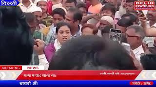 मीना बाजार जामा मस्जिद पर अल्का लाम्बा ने दिया पटरी वालों को आश्वासन i DKP