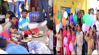 World Food Celebrated By Distributing Food To Mentally Handicap Children | @ SACH NEWS |