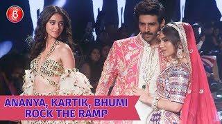 Ananya Panday, Kartik Aaryan & Bhumi Pednekar Rock The Ramp | Pati, Patni Aur Woh