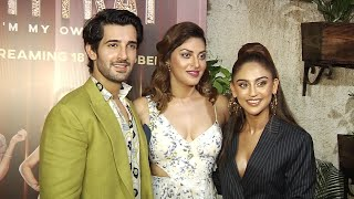 Krystal D'souza, Mandana Karimi & Sonalii Sehgal At Fittrat Web Series Screening