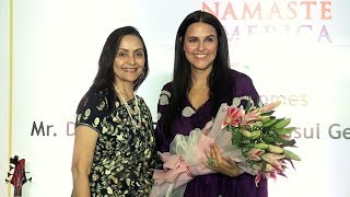 Neha Dhupia At Namaste America Indo American Association For Art And Culture