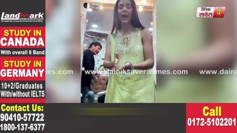 Sonam Bajwa ਨੇ ਕਿਉਂ ਕੀਤੀ Vodafone ਵਾਲਿਆਂ ਨੂੰ  ਦਰਖ਼ਾਸਤ | Viral Video | Dainik Savera