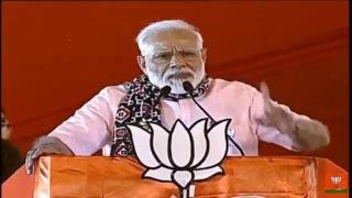 #LIVE:  PM Narendra Modi addresses public meeting in Secunderabad, Telangana