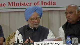 Former PM Dr. Manmohan Singh interacts with business community & media in Mumbai