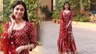 Karwa Chauth 2019 - Divya Khosla Kumar Spotted At Lokhandwala