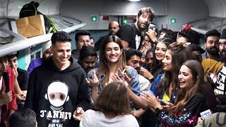 Housefull 4 Team Masti With Media In Train | Akshay Kumar, Bobby Deol, Ritesh