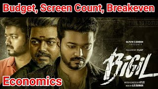 Bigil Movie Budget, Collection, Screen Count, Breakeven Points, And Economics