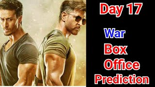 War Movie Box Office Prediction Day 17