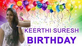 Actress Keerthi Suresh Latest Photoshoot | Mahanati | Keerthi Suresh Birthday Video