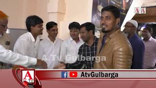 Tandoori Chai Halal Nasha Ka iftetah Gulbarga Shaher Ke KBN Engineering College Road Par