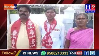 కామారెడ్డి RDO గారికి వినతి పత్రం అంధచెసిన CPI నాయకులు