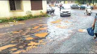 While Ponda Has Been Suffering From Pothole Cancer, Contractor Vows To Eat It From November