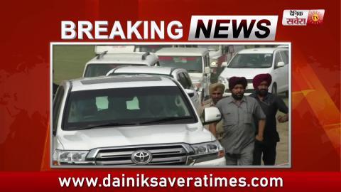 Phagwara में Roadshow से पहले Jalandhar के Dera Sachkhand Ballan पहुंचे CM Captain