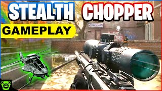 Call of Duty Modern Warfare: Domination - STEALTH CHOPPER Gameplay (No Commentary)