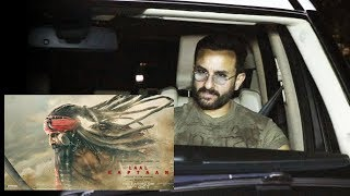 Saif Ali Khan Watches Laal Kaptaan At YRF Studios