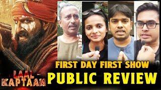 laal kaptaan public reviewaLaal Kaptaan PUBLIC REVIEW | First Day First Show | Saif Ali Khan
