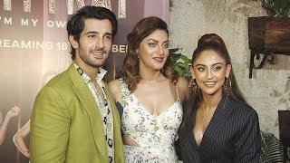 Web Show Fittrat Screening | Red Carpet | Krystle D'Souza, Anushka Ranjan, Aditya Seal