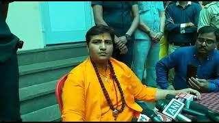 Watch Video: #BJP उम्मीदवार साध्वी प्रज्ञा ने कहा....  देश सर्वोपरि है