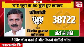 Lok Sabha Election results 2019 — A look at all 80 MPs/ Parliamentarians elected from Uttar Pradesh