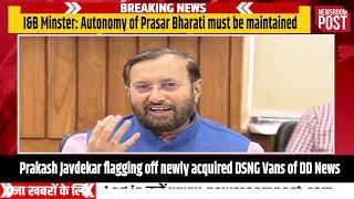 Modi govt will retain autonomy of Prasar Bharati: Prakash Javadekar